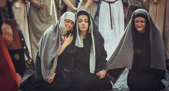 """Many women were also there…"" <br>(Matthew 27:55)"