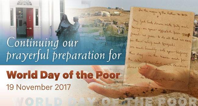 Prayer Intention: World Day of the Poor